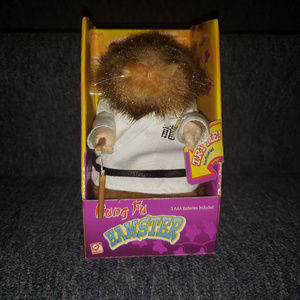 "Gemmy Kung Fu ""Fighting"" Dancing Hamster (white)"